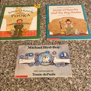 Lot of 3 Tomie DePaola books